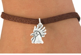 "<bR>               EXCLUSIVELY OURS!!<BR>         AN ALLAN ROBIN DESIGN!!<BR>CLICK HERE TO SEE 600+ EXCITING<BR>   CHANGES THAT YOU CAN MAKE!<BR>              LEAD & NICKEL FREE!!<BR>             W1037SB - ""ROOSTER"" <Br>   & BRACELET FROM $4.15 TO $8.00"