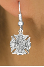 <bR>                      EXCLUSIVELY OURS!!<BR>                AN ALLAN ROBIN DESIGN!!<BR>       CLICK HERE TO SEE 600+ EXCITING<BR>          CHANGES THAT YOU CAN MAKE!<BR>                     LEAD & NICKEL FREE!!<BR>         W1046SE - ST. FLORIAN MALTESE<BR>               CROSS FIREFIGHTER SHIELD<Br>    EARRINGS FROM $3.25 TO $8.00 �2011