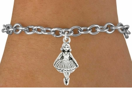 <bR>                                 EXCLUSIVELY OURS!!<BR>                           AN ALLAN ROBIN DESIGN!!<BR>                  CLICK HERE TO SEE 600+ EXCITING<BR>                     CHANGES THAT YOU CAN MAKE!<BR>                                LEAD & NICKEL FREE!!<BR>                    W1053SB - BALLERINA BRACELET <br>                          FROM $4.15 TO $8.00 ©2011
