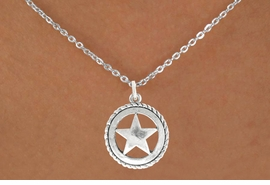 <bR>                  EXCLUSIVELY OURS!!<BR>            AN ALLAN ROBIN DESIGN!!<BR>   CLICK HERE TO SEE 600+ EXCITING<BR>      CHANGES THAT YOU CAN MAKE!<BR>                 LEAD & NICKEL FREE!!<BR>    W1065SN - WESTERN STAR CHARM<Br>& NECKLACE FROM $4.55 TO $8.00 �2011