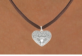 <bR>                  EXCLUSIVELY OURS!!<BR>            AN ALLAN ROBIN DESIGN!!<BR>   CLICK HERE TO SEE 600+ EXCITING<BR>      CHANGES THAT YOU CAN MAKE!<BR>                 LEAD & NICKEL FREE!!<BR>W1066SN - LONGHORN IN HEART CHARM<Br>& NECKLACE FROM $4.55 TO $8.00 �2011