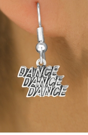 """<bR>                             EXCLUSIVELY OURS!!<BR>                       AN ALLAN ROBIN DESIGN!!<BR>              CLICK HERE TO SEE 600+ EXCITING<BR>                 CHANGES THAT YOU CAN MAKE!<BR>                            LEAD & NICKEL FREE!!<BR>              W1072SE - """"DANCE, DANCE, DANCE""""<Br>          EARRINGS FROM $4.50 TO $8.35 �2011"""
