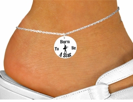 "<bR>                                  EXCLUSIVELY OURS!!<BR>                            AN ALLAN ROBIN DESIGN!!<BR>                   CLICK HERE TO SEE 600+ EXCITING<BR>                      CHANGES THAT YOU CAN MAKE!<BR>                               LEAD & NICKEL FREE!!<BR>W1128SAK - ""BORN TO BE A STAR"" BALLET <Br>CHARM  & ANKLET FROM $3.35 TO $8.00 �2011"