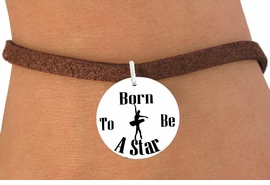 "<bR>                               EXCLUSIVELY OURS!!<BR>                         AN ALLAN ROBIN DESIGN!!<BR>                CLICK HERE TO SEE 600+ EXCITING<BR>                   CHANGES THAT YOU CAN MAKE!<BR>                             LEAD & NICKEL FREE!!<BR>W1128SB - ""BORN TO BE A STAR"" BALLET<Br>CHARM  & BRACELET FROM $4.15 TO $8.00 �2011"