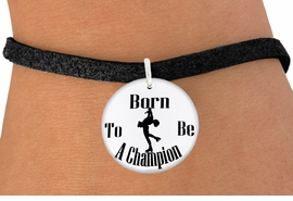 "<bR>                               EXCLUSIVELY OURS!!<BR>                         AN ALLAN ROBIN DESIGN!!<BR>                CLICK HERE TO SEE 600+ EXCITING<BR>                   CHANGES THAT YOU CAN MAKE!<BR>                             LEAD & NICKEL FREE!!<BR>W1135SB - ""BORN TO BE A CHAMPION"" ICE SKATER<Br>CHARM  & BRACELET FROM $4.15 TO $8.00 �2011"