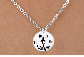 "<bR>                              EXCLUSIVELY OURS!!<BR>                        AN ALLAN ROBIN DESIGN!!<BR>               CLICK HERE TO SEE 600+ EXCITING<BR>                  CHANGES THAT YOU CAN MAKE!<BR>                             LEAD & NICKEL FREE!!<BR>W1135SN - ""BORN TO BE A CHAMPION"" ICE SKATER CHARM & <Br>CHILDRENS NECKLACE FROM $4.50 TO $8.35 �2011"
