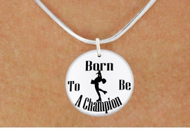 "<bR>                              EXCLUSIVELY OURS!!<BR>                        AN ALLAN ROBIN DESIGN!!<BR>               CLICK HERE TO SEE 600+ EXCITING<BR>                  CHANGES THAT YOU CAN MAKE!<BR>                             LEAD & NICKEL FREE!!<BR>W1135SN - ""BORN TO BE A CHAMPION"" ICE SKATER<Br>CHARM & NECKLACE FROM $4.50 TO $8.35 �2011"