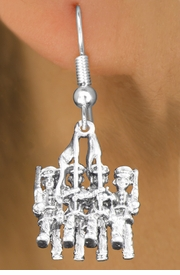 <bR>                           EXCLUSIVELY OURS!!<BR>                     AN ALLAN ROBIN DESIGN!!<BR>            CLICK HERE TO SEE 600+ EXCITING<BR>               CHANGES THAT YOU CAN MAKE!<BR>                          LEAD & NICKEL FREE!!<BR>W1138SE - COLOR GUARD WITH FLAGS CHARM <Br>EARRINGS FROM $4.50 TO $8.35 �2011