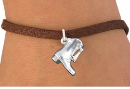 <bR>                       EXCLUSIVELY OURS!!<BR>                 AN ALLAN ROBIN DESIGN!!<BR>        CLICK HERE TO SEE 600+ EXCITING<BR>           CHANGES THAT YOU CAN MAKE!<BR>                     LEAD & NICKEL FREE!!<BR>W1139SB - DRILL TEAM BOOT CHARM  <Br>& BRACELET FROM $4.15 TO $8.00 �2011