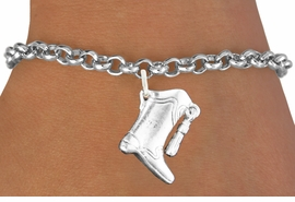 <bR>                       EXCLUSIVELY OURS!!<BR>                 AN ALLAN ROBIN DESIGN!!<BR>        CLICK HERE TO SEE 600+ EXCITING<BR>           CHANGES THAT YOU CAN MAKE!<BR>                     LEAD & NICKEL FREE!!<BR>W1182SB - DRILL TEAM HIGH BOOT CHARM  <Br>& BRACELET FROM $4.15 TO $8.00 �2012
