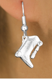 <bR>                           EXCLUSIVELY OURS!!<BR>                     AN ALLAN ROBIN DESIGN!!<BR>            CLICK HERE TO SEE 600+ EXCITING<BR>               CHANGES THAT YOU CAN MAKE!<BR>                          LEAD & NICKEL FREE!!<BR>W1182SE - DRILL TEAM TALL BOOT CHARM <Br>EARRINGS FROM $4.50 TO $8.35 �2012