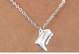 <bR>                  EXCLUSIVELY OURS!!<BR>            AN ALLAN ROBIN DESIGN!!<BR>   CLICK HERE TO SEE 600+ EXCITING<BR>      CHANGES THAT YOU CAN MAKE!<BR>                 LEAD & NICKEL FREE!!<BR>W1182SN - DRILL TEAM TALL BOOT CHARM <Br>& CHILDRENS NECKLACE FROM $4.50 TO $8.35 �2012