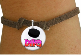 "<bR>                               EXCLUSIVELY OURS!!<BR>                         AN ALLAN ROBIN DESIGN!!<BR>                CLICK HERE TO SEE 600+ EXCITING<BR>                   CHANGES THAT YOU CAN MAKE!<BR>                             LEAD & NICKEL FREE!!<BR>W1191SB - ""HOCKEY DIVA"" WOMENS ICE HOCKEY CHARM  <Br>& CHILDRENS BRACELET FROM $4.15 TO $8.00 �2012"