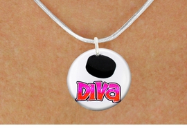 "<bR>                              EXCLUSIVELY OURS!!<BR>                        AN ALLAN ROBIN DESIGN!!<BR>               CLICK HERE TO SEE 600+ EXCITING<BR>                  CHANGES THAT YOU CAN MAKE!<BR>                             LEAD & NICKEL FREE!!<BR>W1191SN - ""HOCKEY DIVA"" WOMENS ICE HOCKEY<Br>CHARM & NECKLACE FROM $4.55 TO $8.00 �2012"