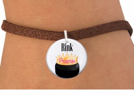 "<bR>                               EXCLUSIVELY OURS!!<BR>                         AN ALLAN ROBIN DESIGN!!<BR>                CLICK HERE TO SEE 600+ EXCITING<BR>                   CHANGES THAT YOU CAN MAKE!<BR>                             LEAD & NICKEL FREE!!<BR>W1192SB - ""RINK PRINCESS"" WOMENS ICE HOCKEY<Br>CHARM  & BRACELET FROM $4.15 TO $8.00 �2012"