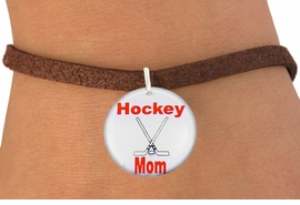 "<bR>                               EXCLUSIVELY OURS!!<BR>                         AN ALLAN ROBIN DESIGN!!<BR>                CLICK HERE TO SEE 600+ EXCITING<BR>                   CHANGES THAT YOU CAN MAKE!<BR>                             LEAD & NICKEL FREE!!<BR>W1195SB - ""HOCKEY MOM"" ICE HOCKEY<Br>CHARM  & BRACELET FROM $4.15 TO $8.00 �2012"