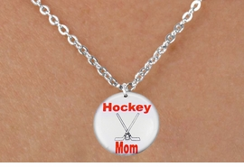"<bR>                              EXCLUSIVELY OURS!!<BR>                        AN ALLAN ROBIN DESIGN!!<BR>               CLICK HERE TO SEE 600+ EXCITING<BR>                  CHANGES THAT YOU CAN MAKE!<BR>                             LEAD & NICKEL FREE!!<BR>W1195SN - ""HOCKEY MOM"" ICE HOCKEY CHARM &<Br> CHILDRENS NECKLACE FROM $4.55 TO $8.00 �2012"