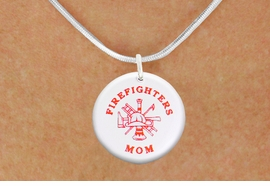 "<bR>                            EXCLUSIVELY OURS!!<BR>                      AN ALLAN ROBIN DESIGN!!<BR>             CLICK HERE TO SEE 600+ EXCITING<BR>                CHANGES THAT YOU CAN MAKE!<BR>                         LEAD & NICKEL FREE!! <BR>           W1201SN - ""FIREFIGHTERS MOM"" <BR>        FIRE HELMET, LADDER AND AXE CHARM <Br>        & NECKLACE FROM $4.50 TO $8.35 �2012"