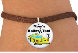 "<bR>                            EXCLUSIVELY OURS!!<BR>                      AN ALLAN ROBIN DESIGN!!<BR>             CLICK HERE TO SEE 600+ EXCITING<BR>                CHANGES THAT YOU CAN MAKE!<BR>                         LEAD & NICKEL FREE!! <BR>W1205SB - ""MOM'S BALLET TAXI"" HUMOROUS CHARM <Br>        & BRACELET FROM $4.15 TO $8.00 �2012"