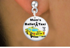 "<bR>                            EXCLUSIVELY OURS!!<BR>                      AN ALLAN ROBIN DESIGN!!<BR>             CLICK HERE TO SEE 600+ EXCITING<BR>                CHANGES THAT YOU CAN MAKE!<BR>                         LEAD & NICKEL FREE!! <BR>W1205SE - ""MOM'S BALLET TAXI"" HUMOROUS CHARM <Br>         EARRINGS FROM $3.25 TO $8.00 �2012"