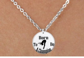 """<bR>                              EXCLUSIVELY OURS!!<BR>                        AN ALLAN ROBIN DESIGN!!<BR>               CLICK HERE TO SEE 600+ EXCITING<BR>                  CHANGES THAT YOU CAN MAKE!<BR>                             LEAD & NICKEL FREE!!<BR>W1209SN - """"BORN TO BE A CHAMPION"""" DIVER CHARM <Br>& CHILDRENS NECKLACE FROM $4.55 TO $8.00 �2012"""