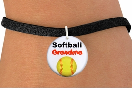 """<bR>                      EXCLUSIVELY OURS!!<BR>               AN ALLAN ROBIN DESIGN!!<BR>      CLICK HERE TO SEE 600+ EXCITING<BR>         CHANGES THAT YOU CAN MAKE!<BR>                   LEAD & NICKEL FREE!!<BR>W1226SB - """"SOFTBALL GRANDMA"""" CHARM  <Br>& BRACELET FROM $4.15 TO $8.00 �2012"""
