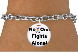 "<bR>                EXCLUSIVELY OURS!!<BR>          AN ALLAN ROBIN DESIGN!!<BR>  CLICK HERE TO SEE 600+ EXCITING <BR>    CHANGES THAT YOU CAN MAKE!<BR>             LEAD & NICKEL FREE!! <BR>W1232SB - AUTISM PUZZLE RIBBON <BR>            ""NO ONE FIGHTS ALONE!"" <Br>                    CHARM & BRACELET <BR>        FROM $4.15 TO $8.00 �2012"