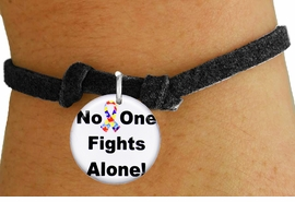 "<bR>                EXCLUSIVELY OURS!!<BR>          AN ALLAN ROBIN DESIGN!!<BR>  CLICK HERE TO SEE 600+ EXCITING <BR>    CHANGES THAT YOU CAN MAKE!<BR>             LEAD & NICKEL FREE!! <BR>W1232SB - AUTISM PUZZLE RIBBON <BR>            ""NO ONE FIGHTS ALONE!"" <Br>      CHARM & CHILDRENS BRACELET <BR>        FROM $4.15 TO $8.00 �2012"
