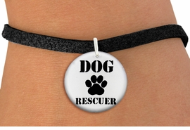 "<bR>                  EXCLUSIVELY OURS!!<BR>            AN ALLAN ROBIN DESIGN!!<BR>    CLICK HERE TO SEE 600+ EXCITING <BR>      CHANGES THAT YOU CAN MAKE!<BR>               LEAD & NICKEL FREE!! <BR>W1256SB - ""DOG RESCUER"" WITH PAW <Br>              DISK CHARM & BRACELET <BR>          FROM $4.15 TO $8.00 �2012"