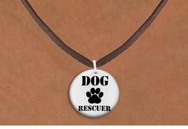 "<bR>                     EXCLUSIVELY OURS!!<BR>               AN ALLAN ROBIN DESIGN!!<BR>      CLICK HERE TO SEE 600+ EXCITING<BR>         CHANGES THAT YOU CAN MAKE!<BR>                    LEAD & NICKEL FREE!!<BR>   W1256SN - ""DOG RESCUER"" WITH PAW  <Br>                DISK CHARM & NECKLACE <BR>           FROM $4.55 TO $8.00 �2012"