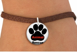"<bR>                  EXCLUSIVELY OURS!!<BR>            AN ALLAN ROBIN DESIGN!!<BR>    CLICK HERE TO SEE 600+ EXCITING <BR>      CHANGES THAT YOU CAN MAKE!<BR>               LEAD & NICKEL FREE!! <BR>W1259SB - ""ANIMAL RESCUE"" WITH PAW <Br>              DISK CHARM & BRACELET <BR>          FROM $4.15 TO $8.00 �2012"