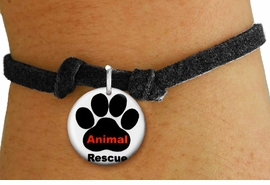"<bR>                  EXCLUSIVELY OURS!!<BR>            AN ALLAN ROBIN DESIGN!!<BR>    CLICK HERE TO SEE 600+ EXCITING <BR>      CHANGES THAT YOU CAN MAKE!<BR>               LEAD & NICKEL FREE!! <BR>W1259SB - ""ANIMAL RESCUE"" WITH PAW <Br>DISK CHARM & CHILDRENS BRACELET <BR>          FROM $4.15 TO $8.00 �2012"
