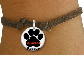 "<bR>                  EXCLUSIVELY OURS!!<BR>            AN ALLAN ROBIN DESIGN!!<BR>    CLICK HERE TO SEE 600+ EXCITING <BR>      CHANGES THAT YOU CAN MAKE!<BR>               LEAD & NICKEL FREE!! <BR>W1259SB - ""ANIMAL RESCUE"" WITH PAW <Br>    DISK CHARM & CHILDRENS BRACELET <BR>          FROM $4.15 TO $8.00 �2012"