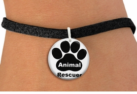 "<bR>                  EXCLUSIVELY OURS!!<BR>            AN ALLAN ROBIN DESIGN!!<BR>    CLICK HERE TO SEE 600+ EXCITING <BR>      CHANGES THAT YOU CAN MAKE!<BR>               LEAD & NICKEL FREE!! <BR>W1262SB - ""ANIMAL RESCUER"" WITH PAW <Br>              DISK CHARM & BRACELET <BR>          FROM $4.15 TO $8.00 �2012"