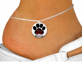"<bR>                     EXCLUSIVELY OURS!!<BR>               AN ALLAN ROBIN DESIGN!!<BR>      CLICK HERE TO SEE 600+ EXCITING<BR>         CHANGES THAT YOU CAN MAKE!<BR>                  LEAD & NICKEL FREE!!<BR>  W1263SAK - "" STRAY ANIMAL RESCUE"" <Br>                 DISK CHARM & ANKLET <BR>          FROM $3.35 TO $8.00 �2012"