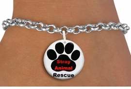 "<bR>                  EXCLUSIVELY OURS!!<BR>            AN ALLAN ROBIN DESIGN!!<BR>    CLICK HERE TO SEE 600+ EXCITING <BR>      CHANGES THAT YOU CAN MAKE!<BR>               LEAD & NICKEL FREE!! <BR>     W1263SB - ""STRAY ANIMAL RESCUE"" <Br>              DISK CHARM & BRACELET <BR>          FROM $4.15 TO $8.00 �2012"
