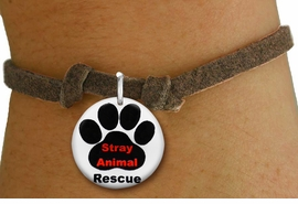"<bR>                  EXCLUSIVELY OURS!!<BR>            AN ALLAN ROBIN DESIGN!!<BR>    CLICK HERE TO SEE 600+ EXCITING <BR>      CHANGES THAT YOU CAN MAKE!<BR>               LEAD & NICKEL FREE!! <BR>     W1263SB - ""STRAY ANIMAL RESCUE"" <Br>  DISK CHARM & CHILDRENS BRACELET <BR>          FROM $4.15 TO $8.00 �2012"