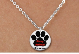 "<bR>                 EXCLUSIVELY OURS!!<BR>            AN ALLAN ROBIN DESIGN!!<BR>   CLICK HERE TO SEE 600+ EXCITING<BR>      CHANGES THAT YOU CAN MAKE!<BR>                 LEAD & NICKEL FREE!! <BR>W1263SN - ""STRAY ANIMAL RESCUE"" <Br>  DISK CHARM & CHILDRENS NECKLACE <BR>        FROM $4.55 TO $8.00 �2012"
