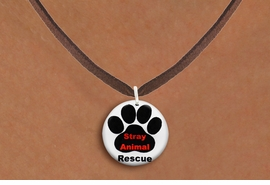 "<bR>                 EXCLUSIVELY OURS!!<BR>            AN ALLAN ROBIN DESIGN!!<BR>   CLICK HERE TO SEE 600+ EXCITING<BR>      CHANGES THAT YOU CAN MAKE!<BR>                 LEAD & NICKEL FREE!! <BR>W1263SN - ""STRAY ANIMAL RESCUE"" <Br>             DISK CHARM & NECKLACE <BR>        FROM $4.55 TO $8.00 �2012"
