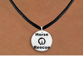 "<bR>                 EXCLUSIVELY OURS!!<BR>            AN ALLAN ROBIN DESIGN!!<BR>   CLICK HERE TO SEE 600+ EXCITING<BR>      CHANGES THAT YOU CAN MAKE!<BR>                 LEAD & NICKEL FREE!! <BR>W1264SN - ""HORSE  RESCUE"" WITH HOOF <Br>             DISK CHARM & NECKLACE <BR>        FROM $4.55 TO $8.00 �2012"