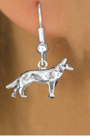 <bR>               EXCLUSIVELY OURS!!<BR>         AN ALLAN ROBIN DESIGN!!<BR>CLICK HERE TO SEE 600+ EXCITING<BR>   CHANGES THAT YOU CAN MAKE!<BR>              LEAD & NICKEL FREE!! <BR>   W1266SE - STANDING WOLF <BR>   CHARM PIERCED EAR EARRINGS <BR>      FROM $3.25 TO $8.00 �2012