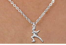 <bR>               EXCLUSIVELY OURS!!<BR>         AN ALLAN ROBIN DESIGN!!<BR>CLICK HERE TO SEE 600+ EXCITING<BR>   CHANGES THAT YOU CAN MAKE!<BR>              LEAD & NICKEL FREE!!<BR>      W1268SN - DETAILED ICE SKATER <Br>  CHARM & CHILDRENS NECKLACE<BR>      FROM $4.50 TO $8.35 �2012