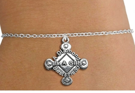 "<bR>               EXCLUSIVELY OURS!!<BR>         AN ALLAN ROBIN DESIGN!!<BR>CLICK HERE TO SEE 600+ EXCITING<BR>   CHANGES THAT YOU CAN MAKE!<BR>             LEAD & NICKEL FREE!! <BR>W293SB - SOFTBALL CHILDS BRACELET <BR>""A DIAMOND IS A GIRLS BEST FRIEND"" <BR>     FROM $4.15 TO $8.00 �2012"