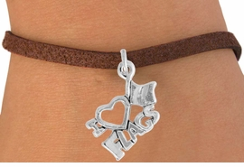 "<bR>               EXCLUSIVELY OURS!!<BR>         AN ALLAN ROBIN DESIGN!!<BR>CLICK HERE TO SEE 600+ EXCITING<BR>   CHANGES THAT YOU CAN MAKE!<BR>              LEAD & NICKEL FREE!!<BR>        W903SB - ""I LOVE FLAGS""<Br>  BRACELET FROM $4.50 TO $8.35"