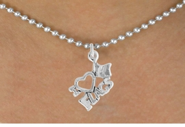 "<bR>               EXCLUSIVELY OURS!!<BR>         AN ALLAN ROBIN DESIGN!!<BR>CLICK HERE TO SEE 600+ EXCITING<BR>   CHANGES THAT YOU CAN MAKE!<BR>              LEAD & NICKEL FREE!!<BR>        W903SN - ""I LOVE FLAGS""<Br>  NECKLACE FROM $4.50 TO $8.35"