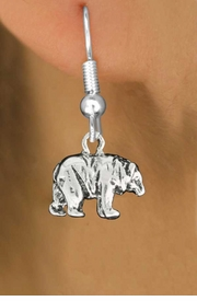 "<bR>               EXCLUSIVELY OURS!!<BR>         AN ALLAN ROBIN DESIGN!!<BR>CLICK HERE TO SEE 600+ EXCITING<BR>   CHANGES THAT YOU CAN MAKE!<BR>              LEAD & NICKEL FREE!!<BR>                 W999SE - ""BEAR""<Br>  EARRINGS FROM $3.25 TO $8.00"