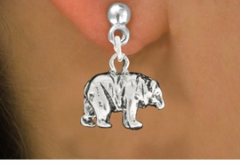 "<bR>               EXCLUSIVELY OURS!!<BR>         AN ALLAN ROBIN DESIGN!!<BR>CLICK HERE TO SEE 600+ EXCITING<BR>   CHANGES THAT YOU CAN MAKE!<BR>              LEAD & NICKEL FREE!!<BR>                 W999SE - ""BEAR""<Br>  EARRINGS FROM $4.50 TO $8.35"