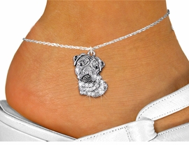 <bR>                    EXCLUSIVELY OURS!!<BR>              AN ALLAN ROBIN DESIGN!! <BR>     LEAD, NICKEL & CADMIUM FREE!!<BR>W1356SAK - DETAILED BULLDOG WITH <BR> CLEAR CRYSTALS CHARM AND ANKLET <Br>         FROM $4.35 TO $9.00 �2012