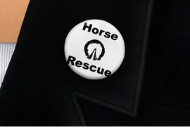 "<bR>                EXCLUSIVELY OURS!!<BR>          AN ALLAN ROBIN DESIGN!!<BR>W19340P -  ""HORSE RESCUE"" WITH HOOF<BR>           CLEAR FINISH TACK PIN <br>      FROM $1.28 TO $3.25 �2012"