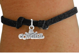 "<bR>               EXCLUSIVELY OURS!!<BR>            CHILDREN'S BRACELET<br>CLICK HERE TO SEE 750+ EXCITING<BR>   CHANGES THAT YOU CAN MAKE!<BR>              LEAD & NICKEL FREE!!<BR>   W529SCB - ""COWGIRL"" MARQUEE<Br>       BRACELET FROM $3.25 TO $7.50"